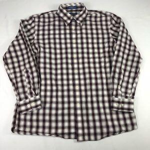 Pendleton Broadway Cloth Shirt Mens Sz L